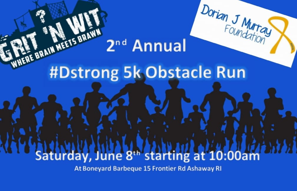 #dstrong 5K Obstacle Run Fundraiser Event
